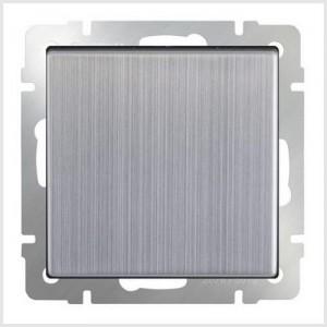 Накладка розетки IP 44 c крышкой  (глянцевый никель)  Артикул: WL02-SKGSC-IP44-CP