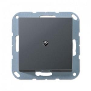 A590BFAANM  Вывод кабеля с суппортом Антрацит