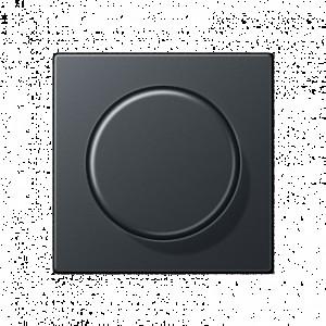 266GDE+ EP1540BFAN  Светорегулятор для ламп накаливания  поворотный   210Вт (LED 3-60Вт)Антрацит 250V