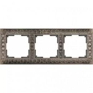 Werkel Antik Бронза WL07 -Frame -03 рамка на 3 поста
