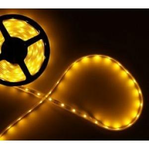Светодиодная лента LEDcraft SMD 3528 9.6 Ватт на метр 120 диодов на метр IP 33 Желтый