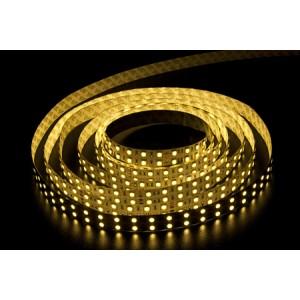 Светодиодная лента LEDcraft SMD 3528 19.2 Ватт на метр 240 диодов на метр IP 65 Теплый белый