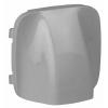 Legrand Valena ALLURE Алюминий  Накладка вывода кабеля   755057