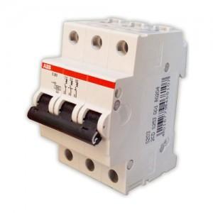 Автомат ABB трехфазный C20А SH 203 4,5kA