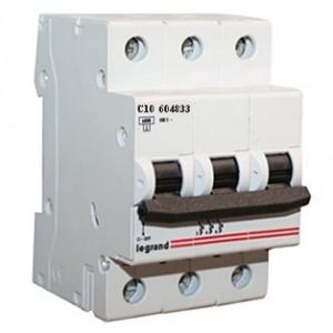 Автомат  Legrand трехфазный 50А ТХ3  6000