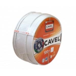 Кабель SAT50 телевизионный      CU+CU  Cavel (  Italy)