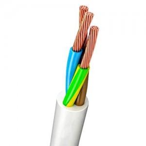 Провод (кабель) ПВС 3х1 Цена за 1 м ГОСТ РФ