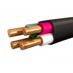 Провод (кабель) ВВГ нг 4х4 Цена за 1 м ТУ