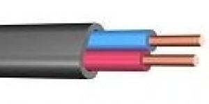 Провод (кабель) ВВГ нг ГОСТ   2х10 Цена за 1 м  РФ