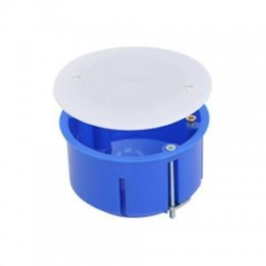Коробка распаячная 41003ИТ, D 100x40 GREENEL (Синий)