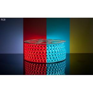 Светодиодная лента ELEGANZ  SMD 5050  6.5 Ватт на метр 54 диода  на метр IP 33 RGB