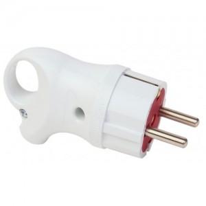 Электрическая вилка  c/з  16 А c кольцом  FAR
