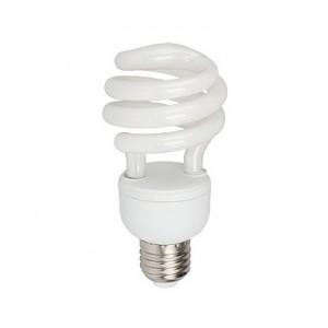 Лампа энергосберегающая Е27 15W теплый и холодный свет