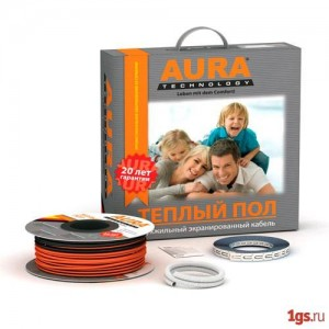 Кабель AURA Heating КТА 67,5м  1200 (6 - 8м.кв)