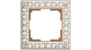 Werkel (Швеция)  рамки  Antik белое золото