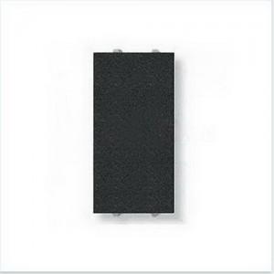Заглушка узкая(1 модуль) ABB Niessen Zenit (антрацит